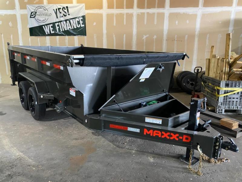 2021 MAXXD DJX8314 3'  8k's Dump Trailer