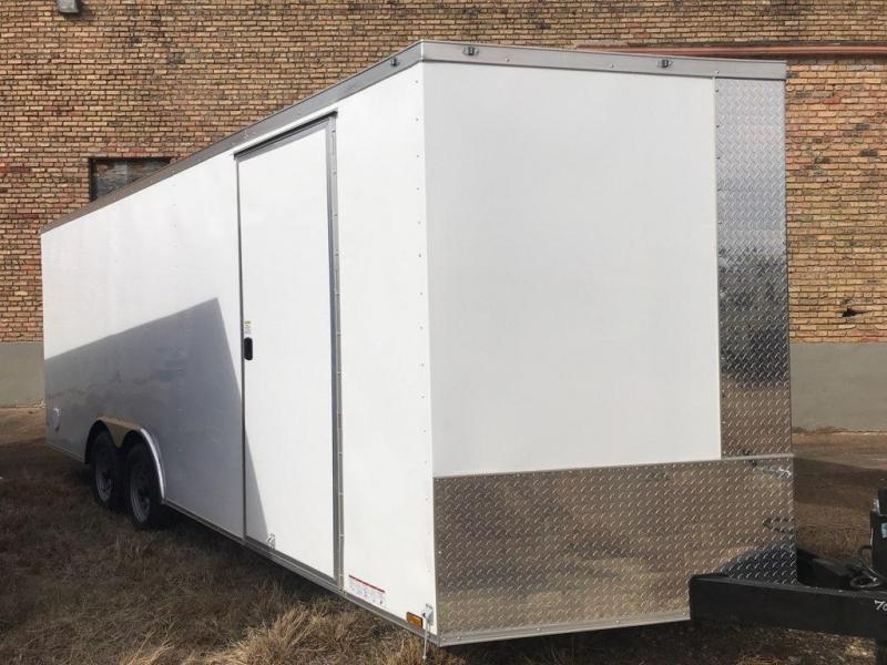 2021 Diamond Cargo 8.5 x 20 Enclosed Trailer