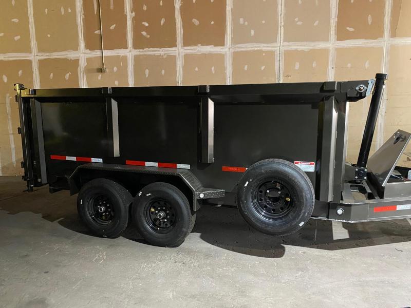 2021 MAXXD DTX8314 3'  7k's Dump Trailer