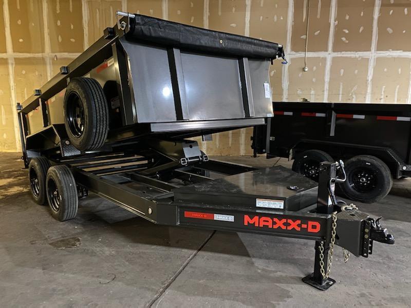 2022 MAXXD DJX8314 3'  8k's Dump Trailer