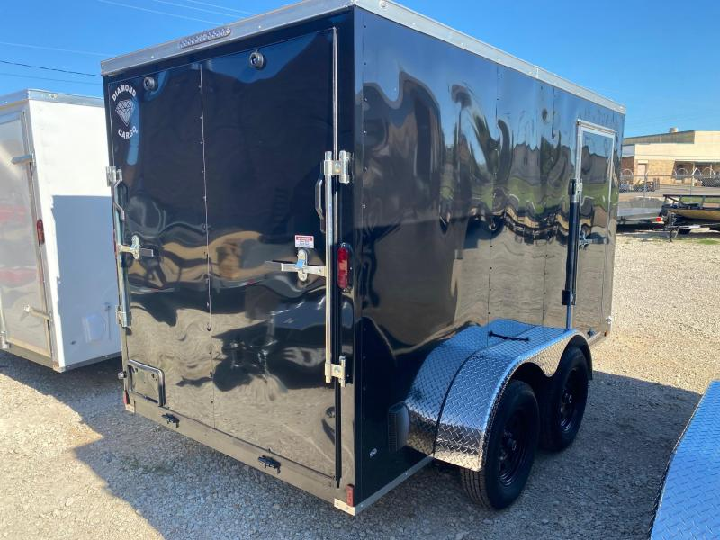 2022 Diamond Cargo 6 x 12 Enclosed Cargo Trailer