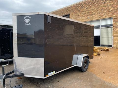 2021 Diamond Cargo 6 x 12 Enclosed Cargo Trailer