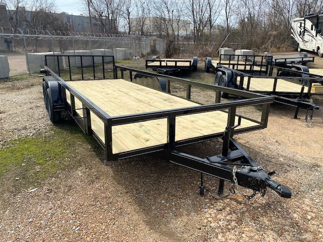 2021 Northshore  61020 tube top Tandem Trailer