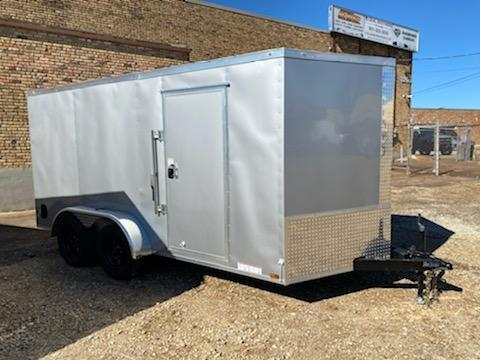 2021 Diamond Cargo 7 x 14 Enclosed Cargo Trailer