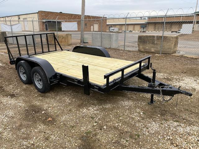 2021 NSM 14' flatbed with gate