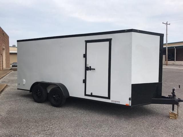 2020 Diamond Cargo 7 x 14 Enclosed Cargo Trailer