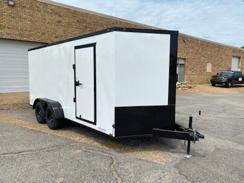 2021 Diamond Cargo 7 x 16 Enclosed Cargo Trailer