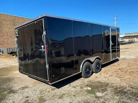 2021 Diamond Cargo 8.5 x 20 Enclosed Trailer