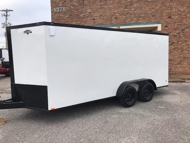 2020 Diamond Cargo 7 x 16 Enclosed Cargo Trailer