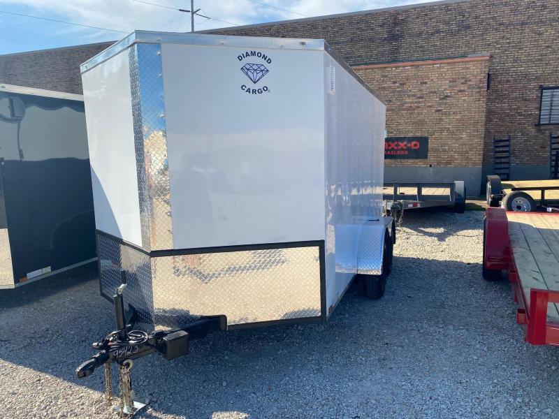2022 Diamond Cargo 7 x 12 Enclosed Cargo Trailer