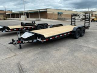 2021 Rice Trailers 20' 14k equipment Trailer