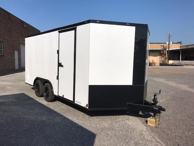 2021 Diamond Cargo 8.5 x 16 Enclosed Cargo Trailer