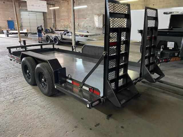 2020 MAXXD B6X8116 Skid Steer Equipment Trailer