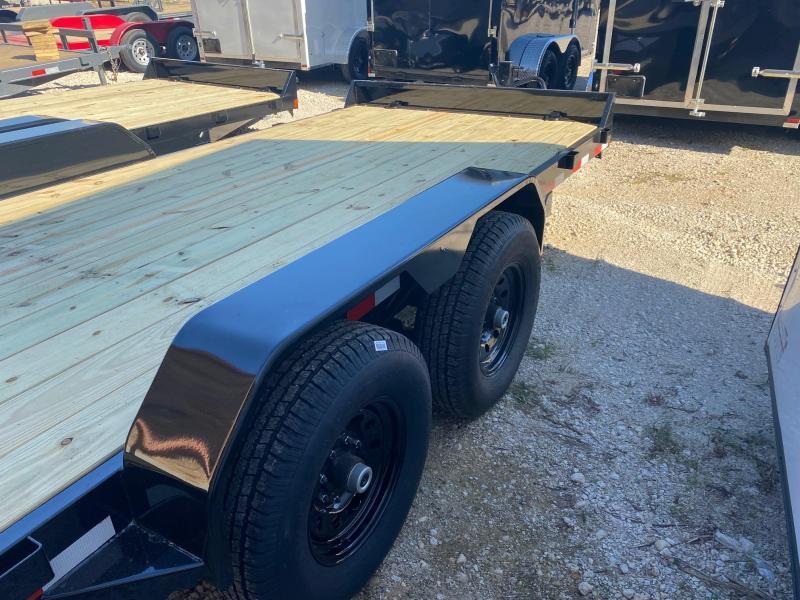 2022 Rice 16' 14k equipment trailer