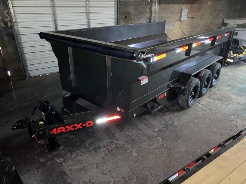 2021 MAXXD DHX8316 triple 7's  3' flare  Dump Trailer
