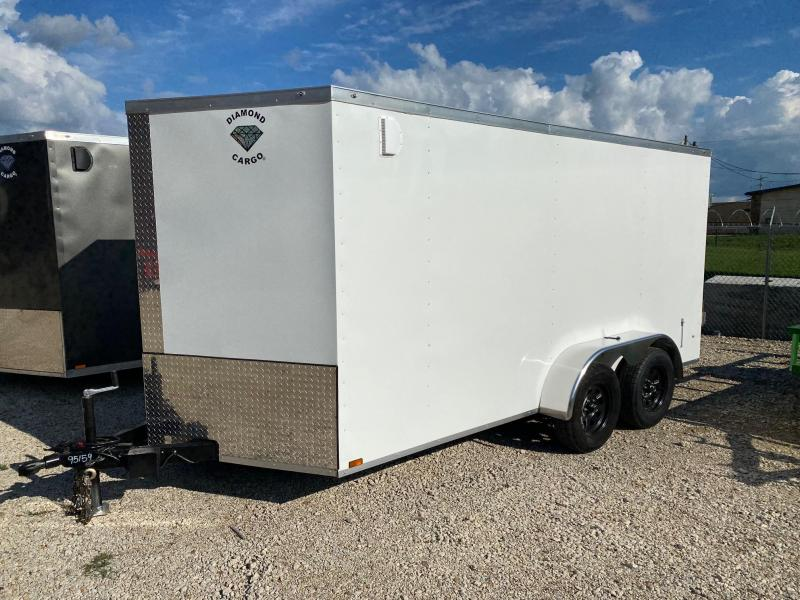 2022 Diamond Cargo 7 x 14 Enclosed Cargo Trailer