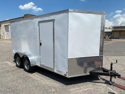 2021 Diamond Cargo 7 x 14 Tandem Enclosed Trailer
