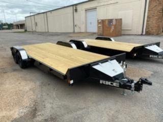 2021 Rice Trailers 20' 7k equipment Trailer