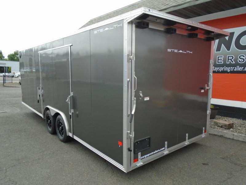 2022 Alcom-Stealth C8.5X24SCH-IF Car / Racing Trailer