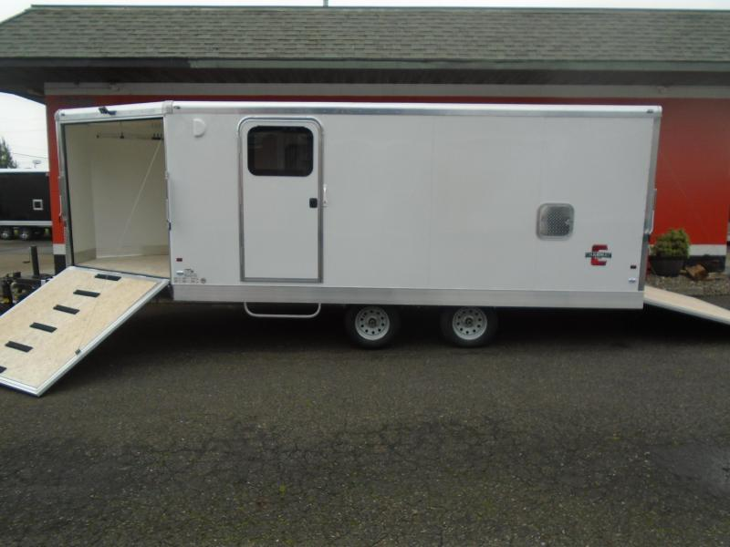 2021 Charmac Trailers ELITE 102X24 ALL ALUMINUM SNOWMOBILE TRAILER