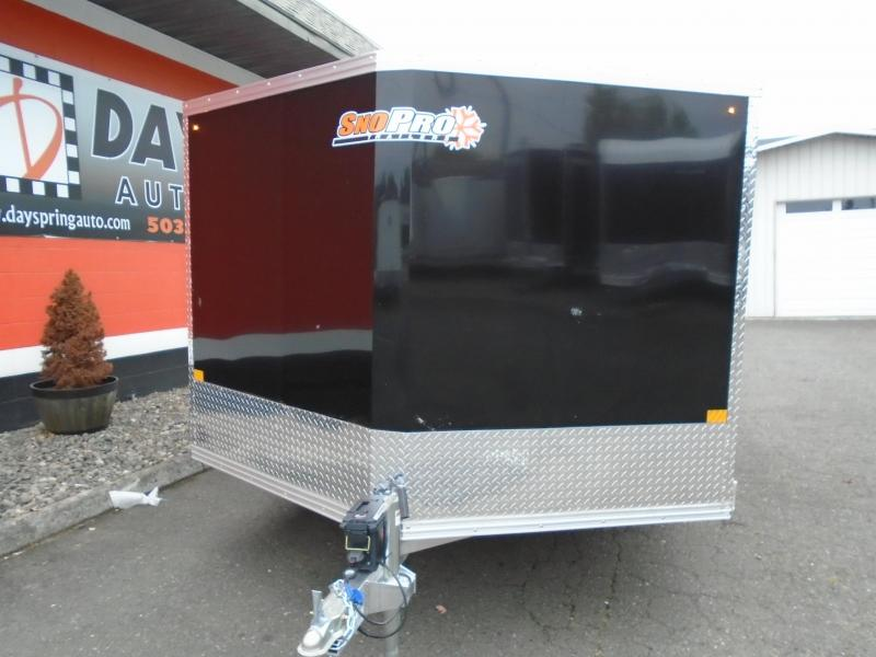 2021 Snopro 2020 ALL ALUMINUM 2 PLACE SNOWMOBILE TRAILER Snowmobile Trailer
