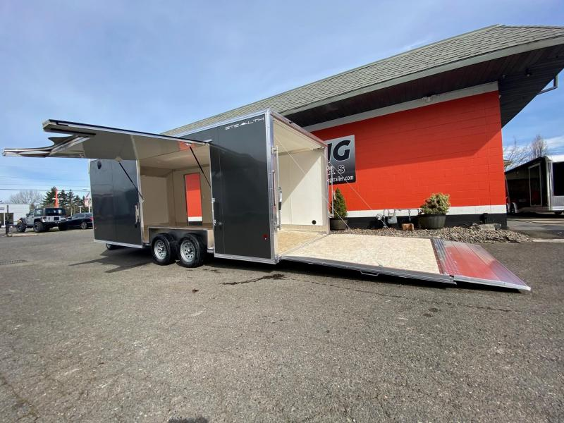 2020 Alcom-Stealth C8.5X20SCH-IF Car / Racing Trailer
