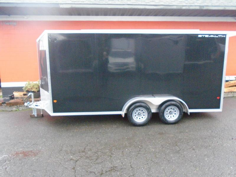 2020 Alcom-Stealth C7X16S-IF Enclosed Cargo Trailer