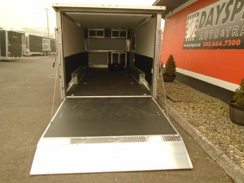 2021 Alcom-Stealth 8.5X20 ALL ALUMINUM CAR HAULER ON 5200# AXLES Car / Racing Trailer