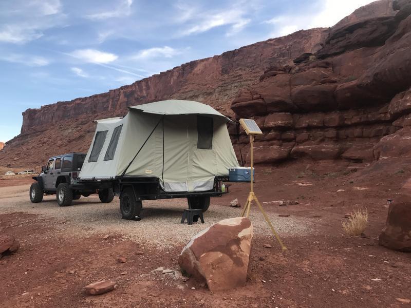 2021 Jumping Jack Trailers JJT6X8 BLACKOUT Tent Camper