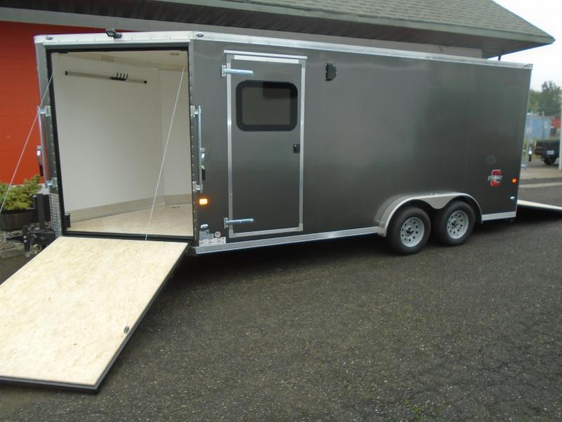 2021 Charmac Trailers 7.6X22 ESCAPE Snowmobile Trailer
