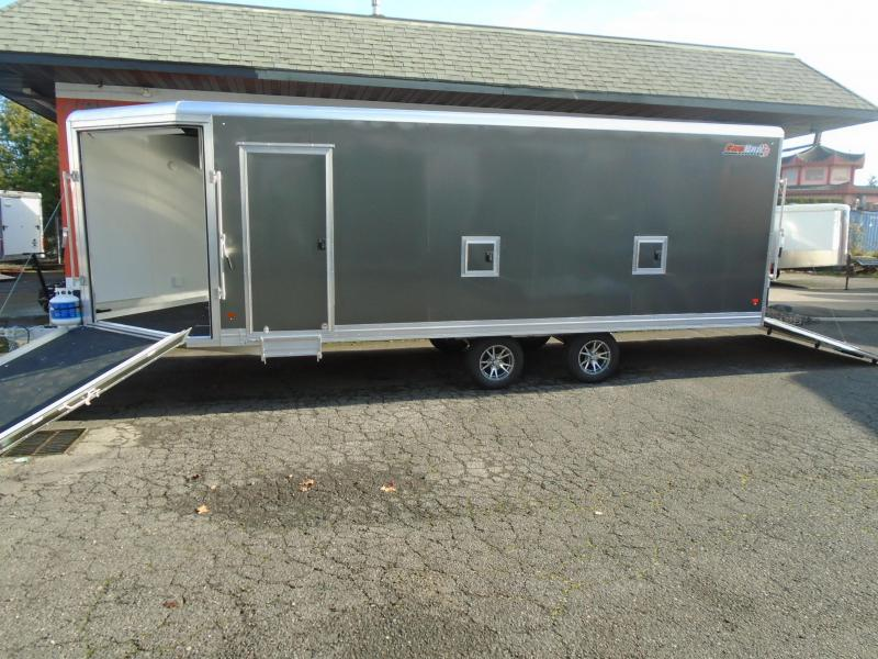 2021 Snopro 101X22 SNOWMOBILE TRAILER WITH A HEATER