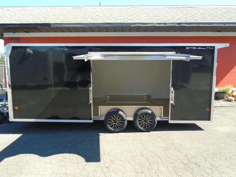 2022 Alcom-Stealth C8.5X20SCH-IF Car / Racing Trailer