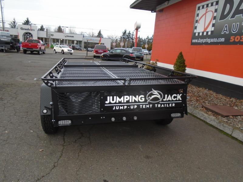 2021 Jumping Jack Trailers JJT6X17 BLACKOUT Tent Camper