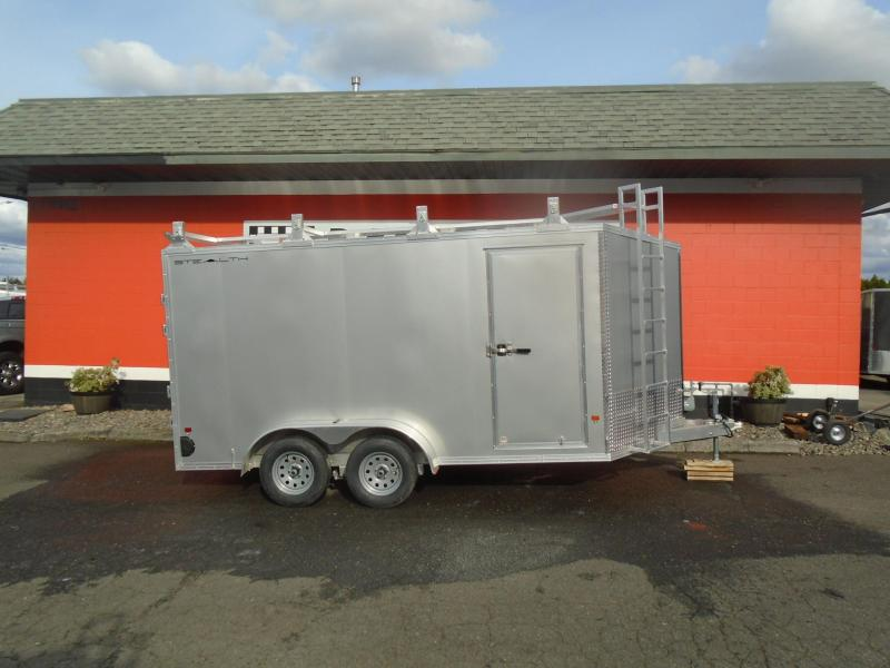 2020 Alcom-Stealth CONTRACTOR Enclosed Cargo Trailer