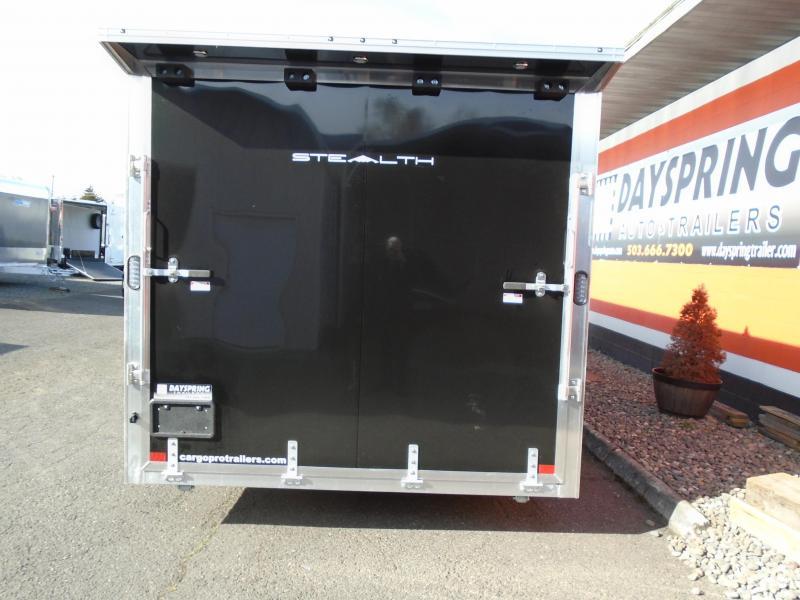 2021 Alcom-Stealth all aluminum  8.5X28 Car / Racing Trailer