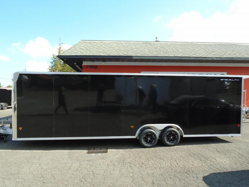 2022 Alcom-Stealth 8.5X28 ALL ALUMINUM CAR HAULER Car / Racing Trailer