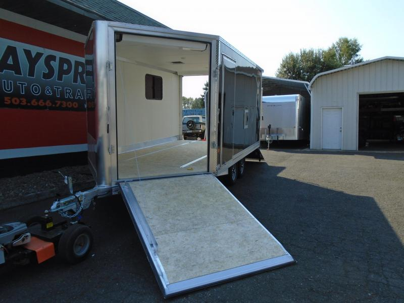 2021 Snopro SNOPROE101X14ESH ALL ALUMINUM SNOWMOBILE TRAILER