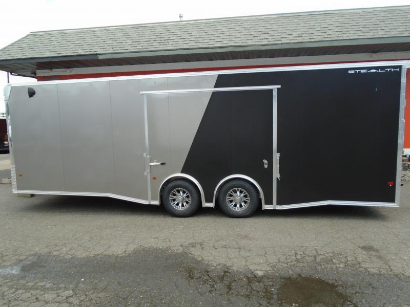 2021 STEALTH ALL ALUMINUM LIMITED EDITION  8.5X26 CAR HAULER