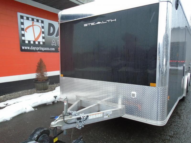 2021 Alcom-Stealth C8.5X22SCH-IF Car / Racing Trailer