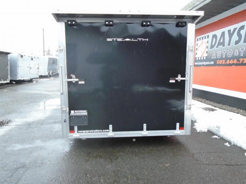 2021 Alcom-Stealth C8.5X22SCH-IF Car / Racing Trailer