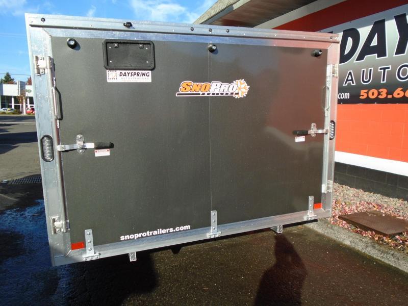 2021 Snopro HYBRID 101X14 Snowmobile Trailer
