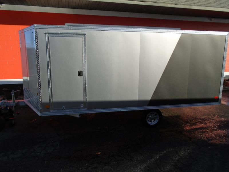 2021 Snopro HYBRID 101X14 Snowmobile Trailer