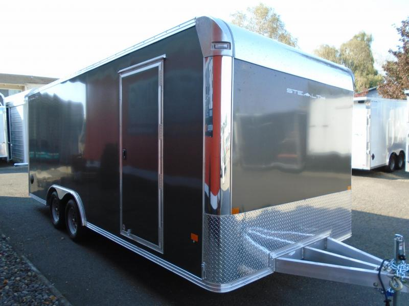 2021 Alcom-Stealth all aluminum  8.5X20 Car / Racing Trailer