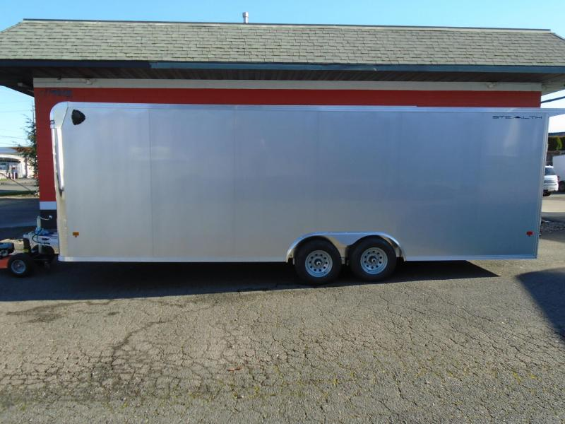 2021 Alcom-Stealth C8.5X24 ALL ALUMINUM ENCLOSED TRAILER