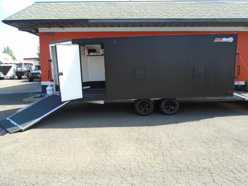 2021 Alcom-Stealth SNOPROE101X18 Snowmobile Trailer