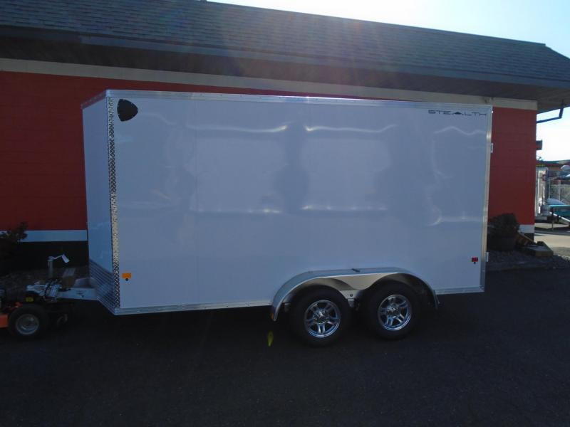 2021 Alcom-Stealth C7X14S-IF ATV Trailer