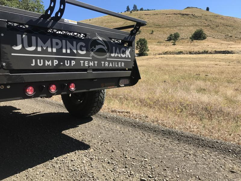 2020 Jumping Jack Trailers JJT6X12X8 B.O. Tent Camper