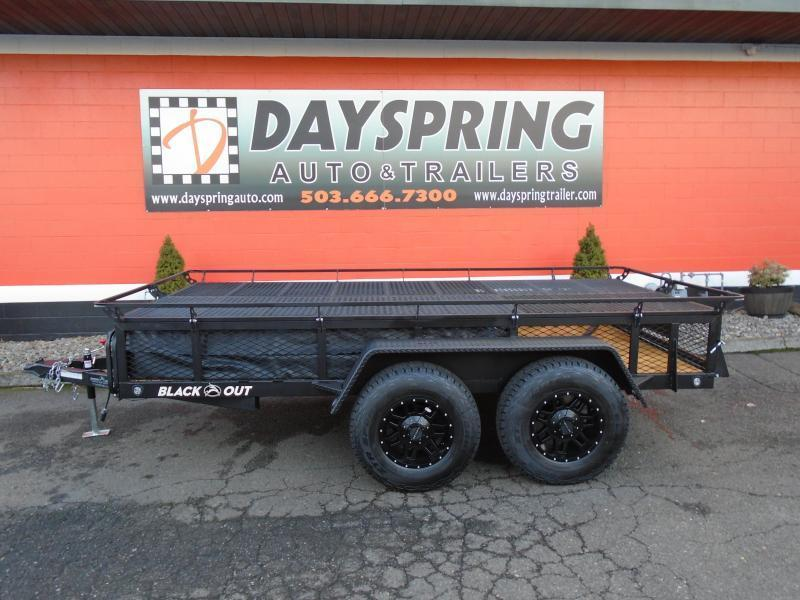 Jumping Jack Dayspring Trailers In Gresham Or Flatbed Utility Trailers In Or Used Cars And Enclosed Trailers In Or Portland Or Trailer Dealer