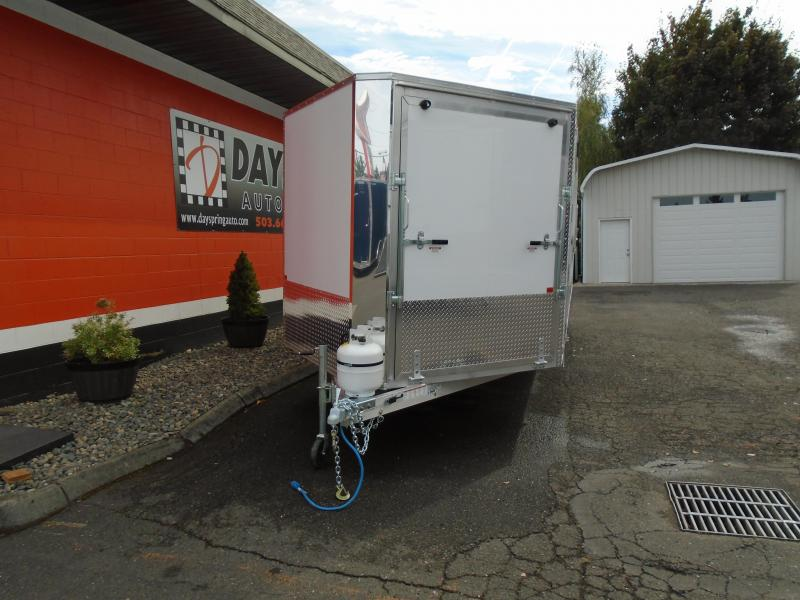 2021 Snopro E101X22-L Snowmobile Trailer
