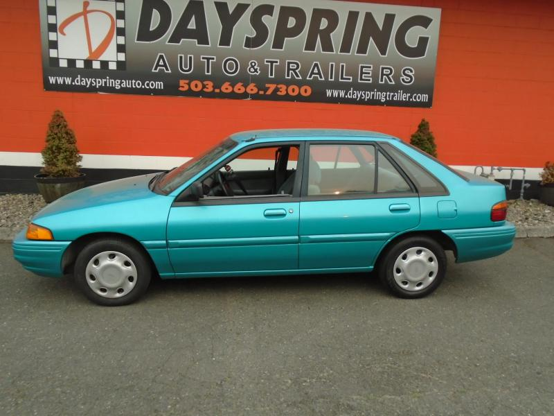 1994 Ford ESCORT  WITH 75K ACTUAL MILES